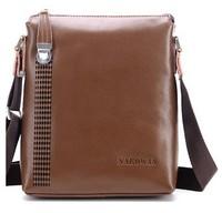 Free shipping!New arrive fashion men genuine leather messenger bag(Black/Brown/Khaki)