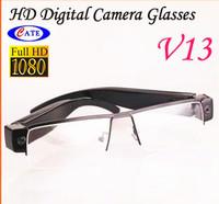 New Fashion HD1920*1080P Glasses glass Camcorder Hidden vedio Camera DVR Mini DV memory avp015ka
