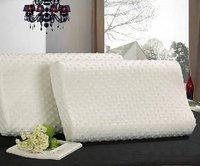 50x30x7cm Memory Foam Pillow Cervical Neck Protector Bed Pillow Removable Zipper Cover