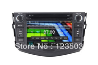 Car DVD Player for Toyota RAV4 <2010-2012>Digtal  TV(ISDB-T) IPOD Stereo Bluetooth  Steering wheel control Radio