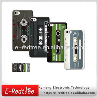 Wholesale & Retail Plastic Cassette Tape Case for iPhone