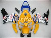 fairing for Honda CBR600RR F5 ABS fairing 2004 CBR600RR F5 03 04 bodykit CBR 600 RR 03 04 F5 bodywork yellow white blue black