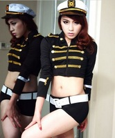 Women Imitation r policewoman Role Playing night Ladies Pole Dancing Clothes Women Sexy Lingerie Open Underwear Club Costume