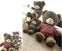 Free shipping 110cm teddy Xiong Zhengpin cuddly teddy bear birthday bear doll press the doll