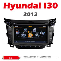 Car DVD for Hyundai i30 2013 with GPS 3G pipbuilt in FM bluetooth TV Free shipping