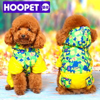 Free shipping original in stock O dog clothes skiing clothing pet autumn and winter thermal wadded jacket vip winter teddy