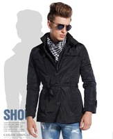 New Style Autumn and Winter Jackets For Men slim fit thickening Outerwear Mens Coat Winter Overcoat