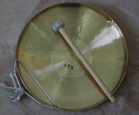 26CM Little su gong bronze percussion