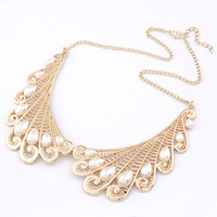 Min order $10(Mix order) Fashion accessories temperament golden wings false collar short necklace