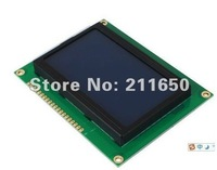 Wholesale price shipping,LCD12864 128*64LCD Display Module 5V Power Supply - Blue Screen with Backlight