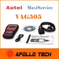 [Top Autel Authorized Distributor]Autel MaxiService VAG505 Diagnostic Tool OBDII Code Reader & Clean VAG 505 free Online Update