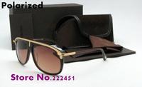 Designer Men's brand polarized sunglasses TF3 plate retro fashion men sunglasses Free shipping