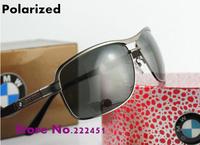 Designer Men's brand polarized sunglasses New B10003 outdoor retro driving glasses inside coating Free shipping
