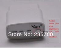 newly developed icar with switch vgate, MINI ELM 327 bluetooth ELM327 processor icar, OBD II scanner,wireless obd2