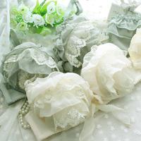 New 2015 chiffon princess sexy lace bra underwear set Lingerie women bra set sexy push up bra bottom underwear for women bras