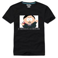 Cartoon lovers version of 100% cotton t-shirt plus size available south park - 10