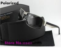 Brand polarized sunglasses for men new P8485 men polarized sunglasses fishing glasses mirror driver Free shipping