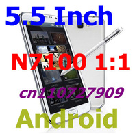 New n7100 note 2 1:1 Android 2GB RAM 16GB rom MTK6589 Quad core 1.6ghz 5.5 inch capacitive screen smart cellphone not iNEW i6000