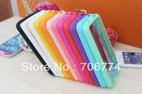 100 PIECES  wholesale  BONWES Hybrid Gummy PC/TPU Slim Protective Case for Samsung I9500 GALAXY  FREE shipping FOR DHL