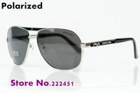 Promotions Men's brand designer Sunglasses brand new glasses polarized men sunglasses authentic H9008 Free shipping