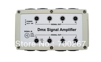 8 Channel Output DMX DMX512 LED Controller Signal Amplifier Splitter Distributor free shipping