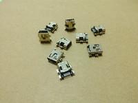 Mini power jack for MP3 MP4 mini USB  5P Free shipping  wholesale laptop cable fan hinge dc jack usb jack