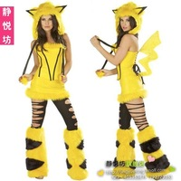Yellow thatmany halloween christmas clothing christmas installation fashion animal costume