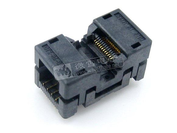 5PCS OTS-24-0.65-01 SSOP24 TSSOP24 IC the transposon programming Block Adapter Conversion Block(China (Mainland))