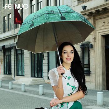Free shipping the brand feinuo folding sun umbrella anti-uv apollo arched bridge scenery princess umbrella, six color can choose