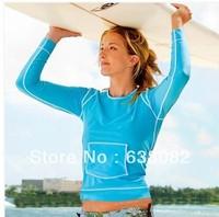 Free shipping women wetsuit neoprene dive suit long sleeve  womens swimwear submersible dive suit