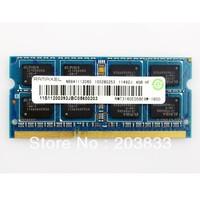 RAMAXEL 4GB DDR3 PC3-12800S 1600MHz LAPTOP RAM MEMORY RMT3160ED58E9W