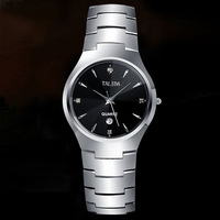 Top quality tungsten watch mens sapphire glass watches for men women with date luxury brand famous fashion ladies wristwatches