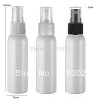 Free Shipping -  50* 60ml White Plastic  Perfume Bottle, 2oz Plastic  Mist Spray Bottle, 60cc Plastic Perfume Bottle