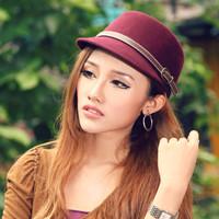 Hat  outdoor cap wool hat girls hip-hop hat lovers beret hat