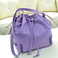 2013 Free shipping lady elegant brand Z*R *  candy color tassels Women Messenger Bags new fashion hot selling knapsack handbag
