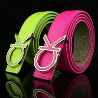 C male women's strap neon color general strap bright color belt
