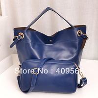 2013 autumn bucket picture women's one shoulder handbag  Picture packages designer messenger bag totes high quality pu leather