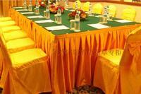 Terylene gold velvet table cloth tablecloth table skirt customize
