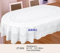 Oval shape pvc table cloth oval shape tablecloth table cloth disposable waterproof oil