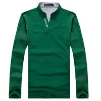 Free shopping Mens Fashion T-Shirts Top V Neck designer t-shirt mens long sleeve t-shirt Slim Fit Leisure Stylish New