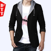 Blazer Men teenage dtt autumn outerwear slim thin blazer