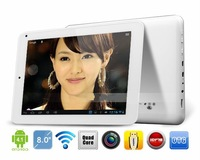 Lenovo Pad A4 8 Inch Quad Core 1G/16G Dual Cameras HD Screen Tablet PC,Wifi+External 3G HDMI and Many Languagee