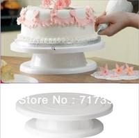 "Pro 11"" Rotating Revolving Cake Sugarcraft Turntable Decorating Stand Platform  Free Shipping K1047"