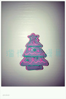 mould Christmas tree chocolate  handmade soap  food  silica gel  customize