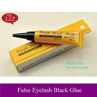 Free shipping! New Pro environmental & allergy free False Eyelash black glue 122#, 12ml, dropshipping!