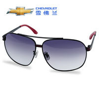 Chevrolet 2013 large sunglasses polarized sunglasses fashion vintage star anti-uv sunglasses