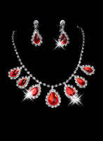 Hot-selling style bride accessories necklace rhinestone the bride necklace bride chain sets wedding accessories