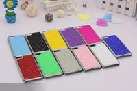 Rhinestone Diamond Crystal Electroplating Bling Starring Glitter Hard back Case For Iphone 5C 100pcs/lot DHL Free Shipping