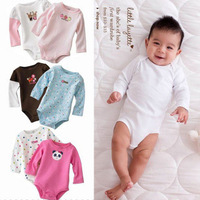 Men and women of high quality 3M-24M Color Baby coveralls baby Triangle Romper Not hooded jumpsuit