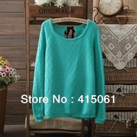 3 Colours NEW 2013 Fashion Women Long Sleeve Cardigan Brand F21 Knitted Lace Sweater ,Size S,M,L.